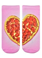 Heart Pizza Ankle