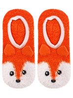 Fuzzy Fox Slipper Sock