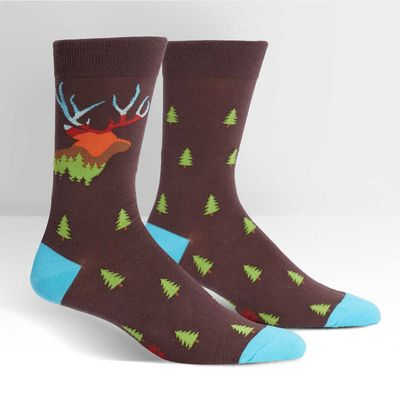 SITM  Horn To Be Wild Crew Socks