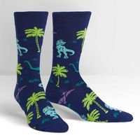 SITM  Land of the Dino Crew Socks