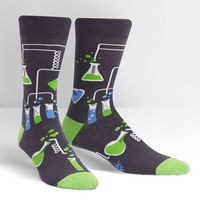 Sock It To Me Laboratory Crew Socks