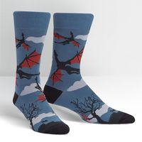 Sock It To Me Twilight Flight Crew Socks