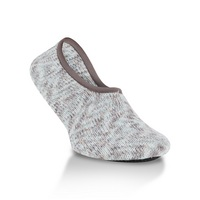 Crescent Socks Weekend Ragg Slipper Savannah  Large