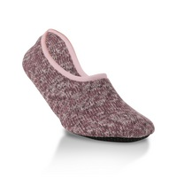 Crescent Socks Weekend Ragg Slipper Abigail  Large