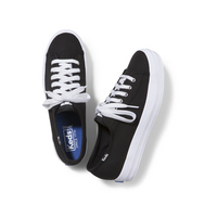 Keds Triple Kick Canvas Black  White