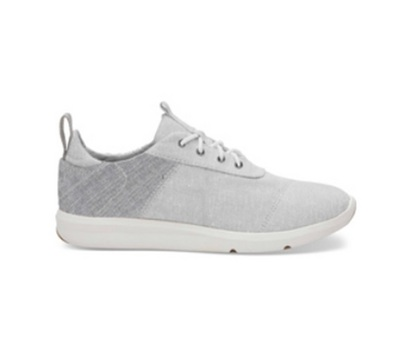Toms Cabrillo Sneaker in Drizzle Grey Chambray