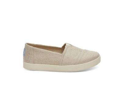 Toms Avalon SlipOn in Rose Gold Metallic Woven