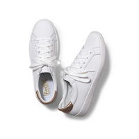 Keds Ace Leather Metallic WhiteRose Gold