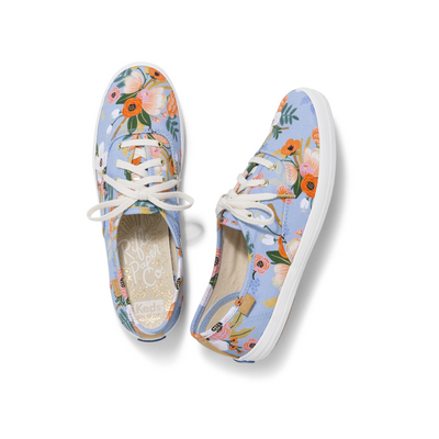 Keds Champion Rifle Paper Periwinkle