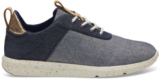 Cabrillo Navy Denim Sneaker
