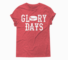 RUBYS RUBBISH Hockey Glory Days Classic Tee