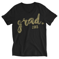 Rubys Rubbish  Grad 2018 V Neck Tee