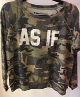 PRECISION APPAREL (AS IF) CAMO PULLOVER