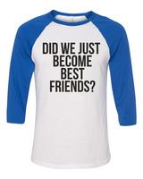 Rubys Rubbish Did We Just Become Best Friends Raglan