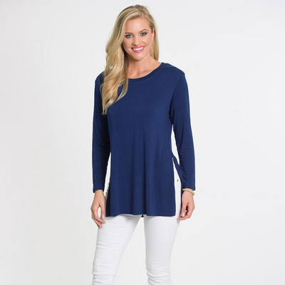 3e5084dd77fd0c Flying Colors Marie Side Slit Tunic | Barnes & Noble at UCONN