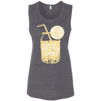 Rubys Rubbish When Life Gives You Lemons Muscle Tank