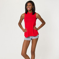Flying Colors Penelope Side Slit Tank
