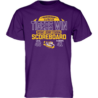 Football Final Score Short Sleeve Tee