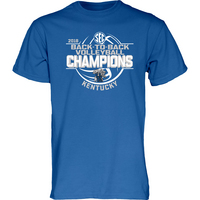 SEC Back to Back Womens Volleyball Champions Tee