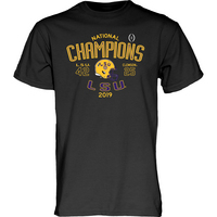 Blue 84 National Champions Score T Shirt