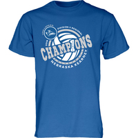 D2 Womens Volleyball Regional Champions Tee