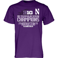 Big 10 Womens Regular Season Champions Tee