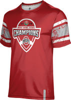 2019 Bowl Game Champions ProSphere Mens Sublimated Tee  Endzone Design