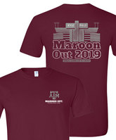 Texas A&M Maroon Out Short Sleeve Tee