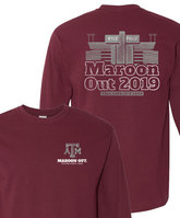 Texas A&M Maroon Out Long Sleeve Tee