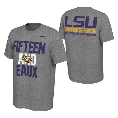 Nike National Champions Undefeated T Shirt