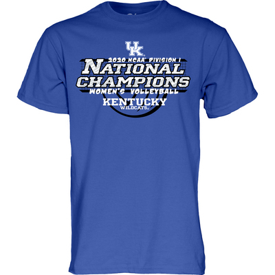 Blue 84 Womens Volleyball National Champs Shirt