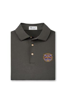 Peter Millar National Champions Solid Stretch Jersey Polo