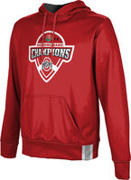2019 Bowl Game Champions ProSphere Mens Sublimated Hoodie  Solid Design