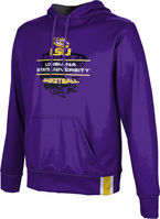 2019 Basketball Tourney Pullover Hoodie Solid