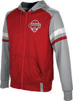 2019 Bowl Game Champions ProSphere Mens Sublimated Full Zip Hoodie  Old School Design
