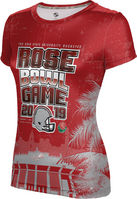 2019 Rose Bowl ProSphere Womens Sublimated Tee