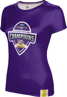 2019 Bowl Game Champions ProSphere Womens Sublimated Tee  Solid Design