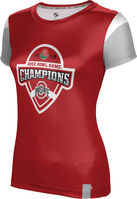 2019 Bowl Game Champions ProSphere Womens Sublimated Tee  Tailgate Design