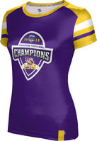 2019 Bowl Game Champions ProSphere Womens Sublimated Tee  Old School Design