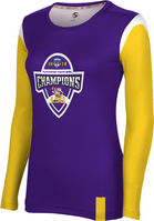 2019 Bowl Game Champions ProSphere Womens Sublimated Long Sleeve Tee  Tailgate Design