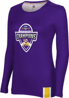 2019 Bowl Game Champions ProSphere Womens Sublimated Long Sleeve Tee  Solid Design