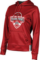 2019 Bowl Game Champions ProSphere Womens Sublimated Hoodie  Solid Design