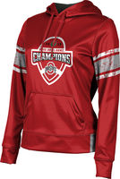 2019 Bowl Game Champions ProSphere Womens Sublimated Hoodie  Endzone Design