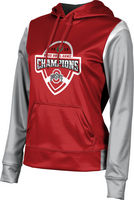 2019 Bowl Game Champions ProSphere Womens Sublimated Hoodie  Tailgate Design