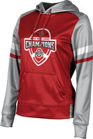 2019 Bowl Game Champions ProSphere Womens Sublimated Hoodie  Old School Design