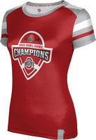 2019 Bowl Game Champions ProSphere Girls Sublimated Tee  OldSchool Design (Online Only)