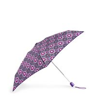 Vera Bradley Automatic Mini Umbrella Lilac Medallion