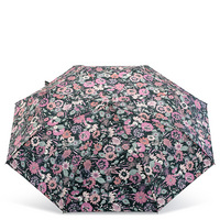 Auto open umbrella with wristlet strap