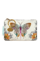 Papaya Coin Purse, 3x5, Paisley Butterfly