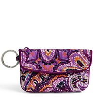 Vera Bradley Iconic Jen Zip ID Dream Tapestry